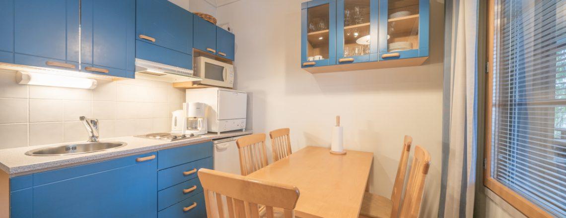 Apartments_Tahko_keittiö_rinnenäkymät_keskusta_Tahko_Kuopio_Visitfinland