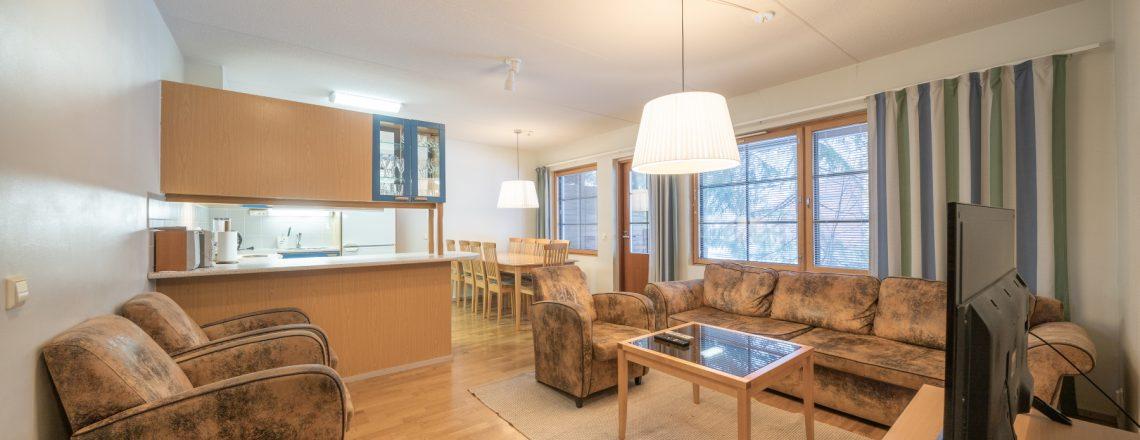 Apartments_Tahko_olohuone_rinnenäkymät_Tahkon_keskustassa_Kuopio_Visitfinland