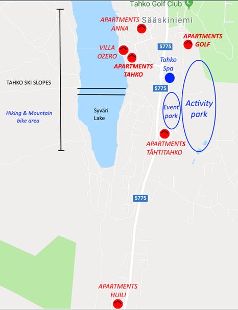 Tahkon_keskusta_palvelut_Apartments_Anna_Tähtitahko_Huili_Villa_Ozero_Kuopio_Lakeland_VisitFinland